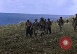 Image of Japanese prisoners and civilians Saipan Northern Mariana Islands, 1944, second 20 stock footage video 65675050876