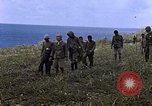Image of Japanese prisoners and civilians Saipan Northern Mariana Islands, 1944, second 21 stock footage video 65675050876