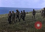 Image of Japanese prisoners and civilians Saipan Northern Mariana Islands, 1944, second 22 stock footage video 65675050876