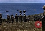 Image of Japanese prisoners and civilians Saipan Northern Mariana Islands, 1944, second 31 stock footage video 65675050876