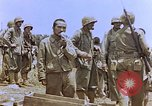 Image of Japanese prisoners and civilians Saipan Northern Mariana Islands, 1944, second 51 stock footage video 65675050876