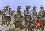 Image of Japanese prisoners and civilians Saipan Northern Mariana Islands, 1944, second 52 stock footage video 65675050876
