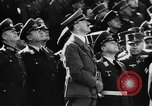 Image of Celebration parade in Vienna during Anschluss Vienna Austria, 1938, second 10 stock footage video 65675050928