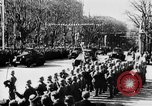 Image of Celebration parade in Vienna during Anschluss Vienna Austria, 1938, second 33 stock footage video 65675050928