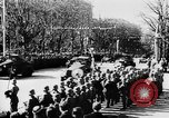 Image of Celebration parade in Vienna during Anschluss Vienna Austria, 1938, second 34 stock footage video 65675050928