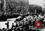Image of Celebration parade in Vienna during Anschluss Vienna Austria, 1938, second 35 stock footage video 65675050928