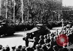 Image of Celebration parade in Vienna during Anschluss Vienna Austria, 1938, second 36 stock footage video 65675050928