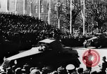 Image of Celebration parade in Vienna during Anschluss Vienna Austria, 1938, second 38 stock footage video 65675050928