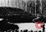 Image of Celebration parade in Vienna during Anschluss Vienna Austria, 1938, second 39 stock footage video 65675050928
