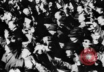 Image of Celebration parade in Vienna during Anschluss Vienna Austria, 1938, second 40 stock footage video 65675050928