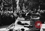 Image of Celebration parade in Vienna during Anschluss Vienna Austria, 1938, second 42 stock footage video 65675050928
