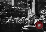 Image of Celebration parade in Vienna during Anschluss Vienna Austria, 1938, second 46 stock footage video 65675050928