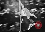 Image of Celebration parade in Vienna during Anschluss Vienna Austria, 1938, second 48 stock footage video 65675050928