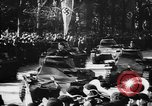 Image of Celebration parade in Vienna during Anschluss Vienna Austria, 1938, second 49 stock footage video 65675050928
