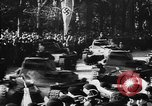 Image of Celebration parade in Vienna during Anschluss Vienna Austria, 1938, second 50 stock footage video 65675050928