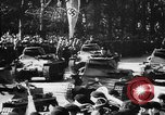 Image of Celebration parade in Vienna during Anschluss Vienna Austria, 1938, second 52 stock footage video 65675050928