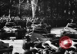 Image of Celebration parade in Vienna during Anschluss Vienna Austria, 1938, second 53 stock footage video 65675050928
