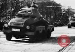 Image of Celebration parade in Vienna during Anschluss Vienna Austria, 1938, second 59 stock footage video 65675050928