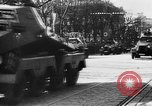 Image of Celebration parade in Vienna during Anschluss Vienna Austria, 1938, second 60 stock footage video 65675050928