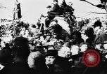 Image of Celebration parade in Vienna during Anschluss Vienna Austria, 1938, second 62 stock footage video 65675050928