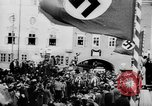 Image of German Anschluss occupation of cities Austria, 1938, second 4 stock footage video 65675050932