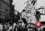 Image of German Anschluss occupation of cities Austria, 1938, second 20 stock footage video 65675050932