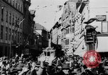 Image of German Anschluss occupation of cities Austria, 1938, second 21 stock footage video 65675050932