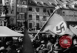Image of German Anschluss occupation of cities Austria, 1938, second 22 stock footage video 65675050932