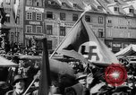 Image of German Anschluss occupation of cities Austria, 1938, second 24 stock footage video 65675050932