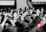 Image of German Anschluss occupation of cities Austria, 1938, second 33 stock footage video 65675050932