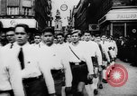 Image of Hitler in Linz during German Anschluss Linz Austria, 1938, second 7 stock footage video 65675050934