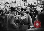 Image of Hitler in Linz during German Anschluss Linz Austria, 1938, second 9 stock footage video 65675050934