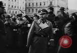 Image of Hitler in Linz during German Anschluss Linz Austria, 1938, second 14 stock footage video 65675050934