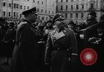 Image of Hitler in Linz during German Anschluss Linz Austria, 1938, second 15 stock footage video 65675050934