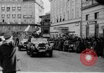 Image of Hitler in Linz during German Anschluss Linz Austria, 1938, second 20 stock footage video 65675050934