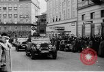 Image of Hitler in Linz during German Anschluss Linz Austria, 1938, second 21 stock footage video 65675050934