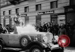 Image of Hitler in Linz during German Anschluss Linz Austria, 1938, second 25 stock footage video 65675050934