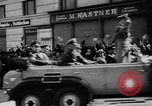 Image of Hitler in Linz during German Anschluss Linz Austria, 1938, second 27 stock footage video 65675050934