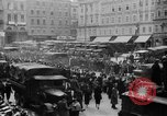 Image of Hitler in Linz during German Anschluss Linz Austria, 1938, second 29 stock footage video 65675050934