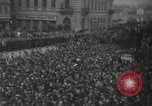 Image of Hitler in Linz during German Anschluss Linz Austria, 1938, second 36 stock footage video 65675050934