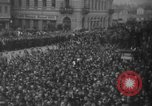 Image of Hitler in Linz during German Anschluss Linz Austria, 1938, second 37 stock footage video 65675050934