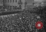 Image of Hitler in Linz during German Anschluss Linz Austria, 1938, second 38 stock footage video 65675050934