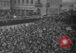 Image of Hitler in Linz during German Anschluss Linz Austria, 1938, second 39 stock footage video 65675050934