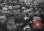 Image of Hitler in Linz during German Anschluss Linz Austria, 1938, second 40 stock footage video 65675050934