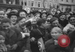 Image of Hitler in Linz during German Anschluss Linz Austria, 1938, second 41 stock footage video 65675050934