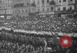Image of Hitler in Linz during German Anschluss Linz Austria, 1938, second 42 stock footage video 65675050934