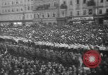 Image of Hitler in Linz during German Anschluss Linz Austria, 1938, second 43 stock footage video 65675050934