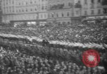 Image of Hitler in Linz during German Anschluss Linz Austria, 1938, second 44 stock footage video 65675050934