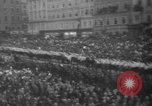 Image of Hitler in Linz during German Anschluss Linz Austria, 1938, second 45 stock footage video 65675050934