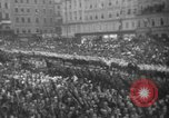 Image of Hitler in Linz during German Anschluss Linz Austria, 1938, second 46 stock footage video 65675050934